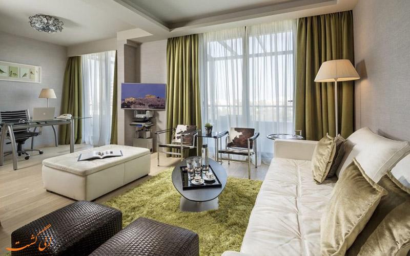 خدمات رفاهی هتل رادیسون بلو پارک آتن- درون اتاق ها