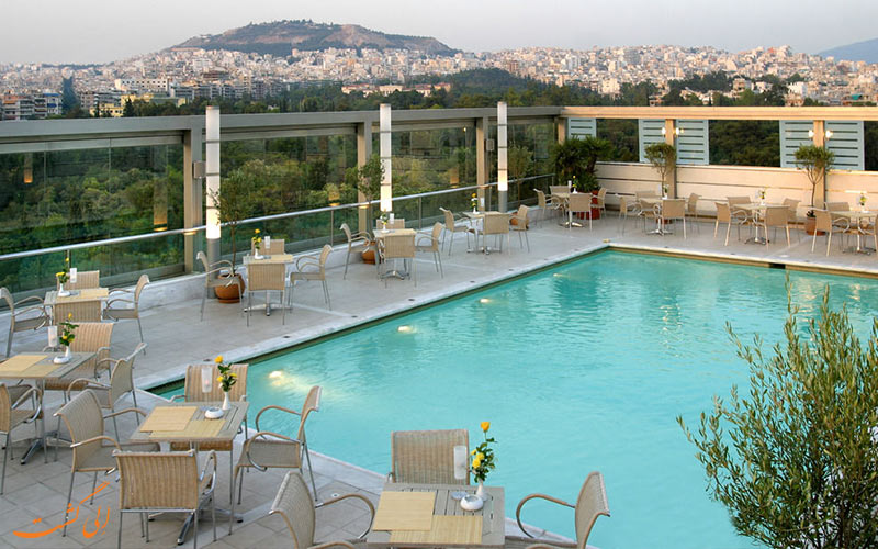 Radisson Blu Park Hotel Athens-eligasht.com استخر