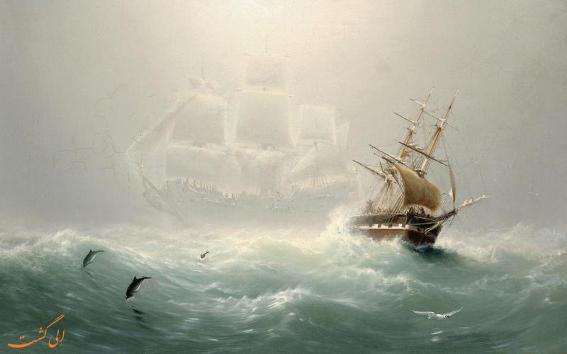کشتی که پرواز می کند