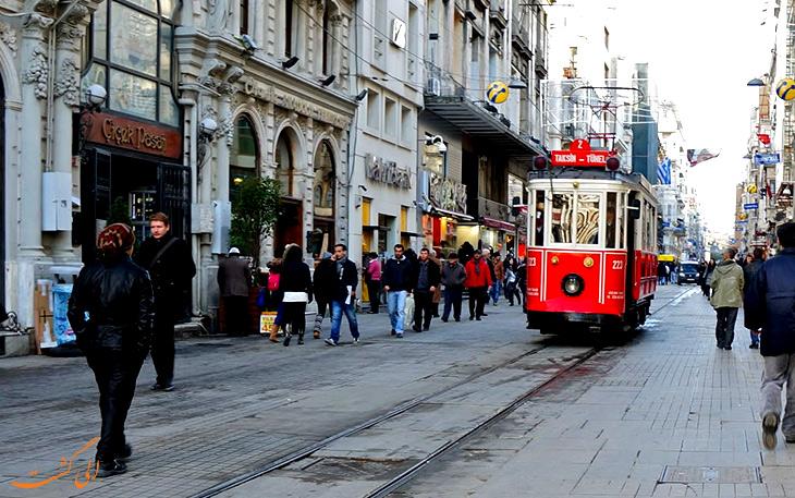 تراموا در استانبول