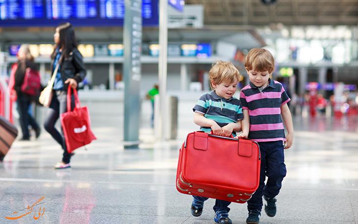 سفر هوایی کودکان