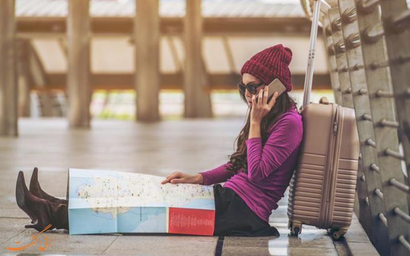 زنانی که تنها سفر می کنند