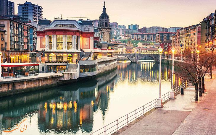 شهر بیلبائو در اسپانیا