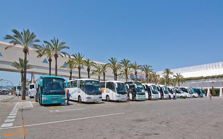 حمل و نقل فرودگاه پالما دو مایورکا