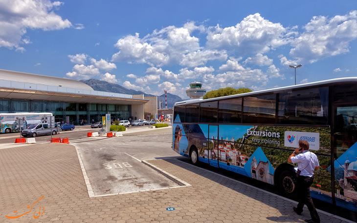 اتوبوس فرودگاه دوبرونیک