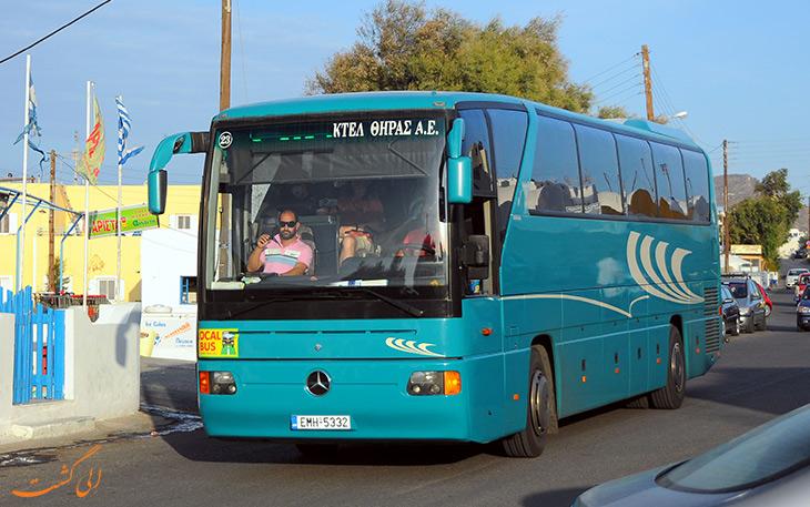 اتوبوس سانتورینی