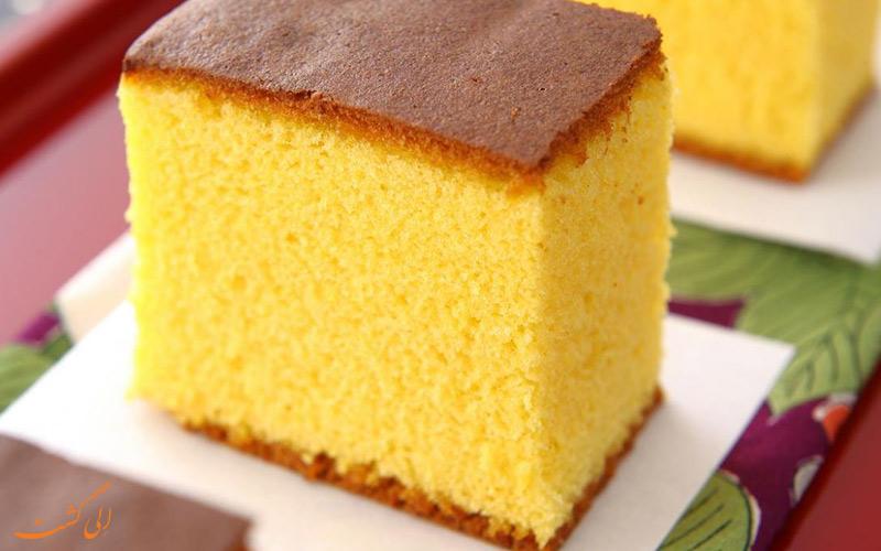 کیک Kasutera