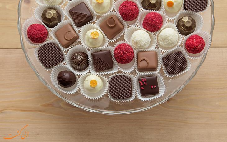 شکلات های سوئیس