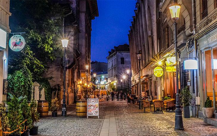 خیابان شهر بخارست