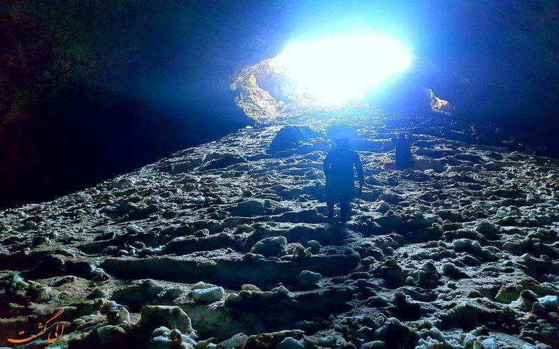 غار یخی درفک