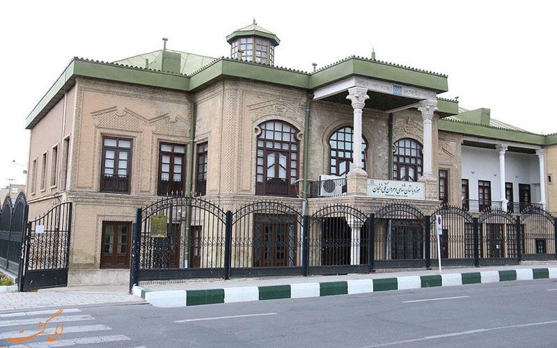 موزه مردان نمکی - عمارت ذوالفقاری