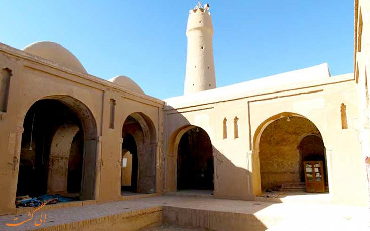 نمای داخلی مسجد جامع فهرج یزد