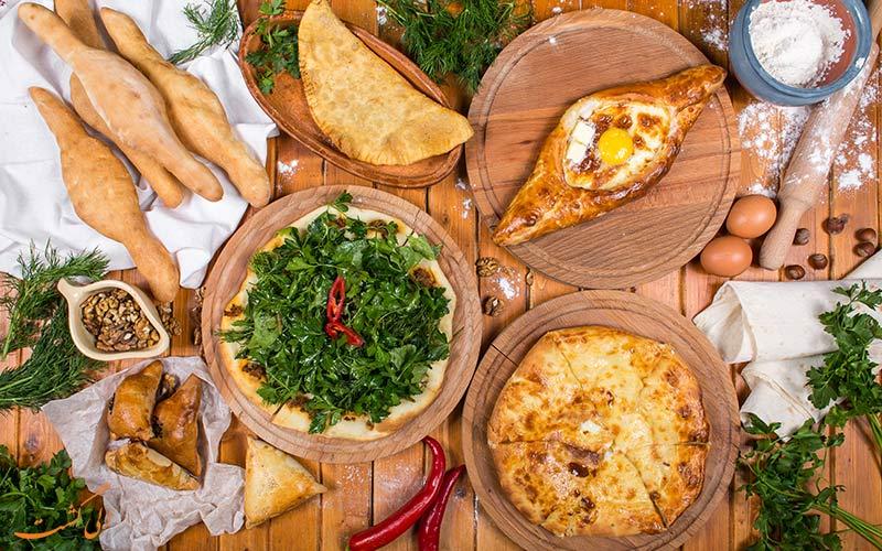خاچاپوری محبوب ترین غذای گرجستان