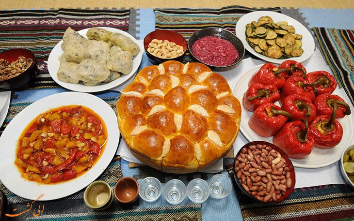غذاهای بلغاری