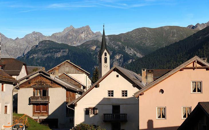 شهر گواردا سوئیس