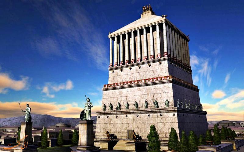 مقبره ای بزرگ در Halicarnassus