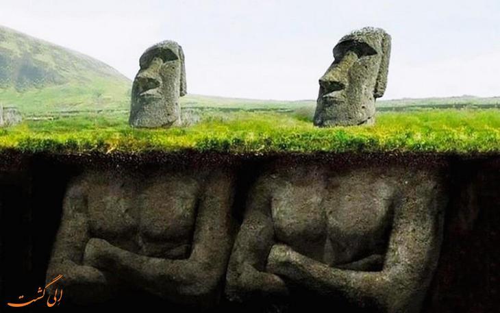 سرهایی که بدن دارند