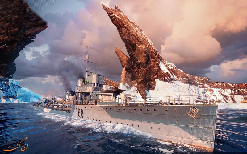 تصویر انتزاعی کشتی خون اشام