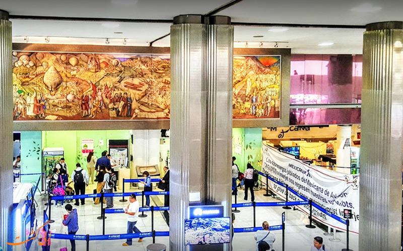 اطلاعات فرودگاه بین المللی مکزیکوسیتی