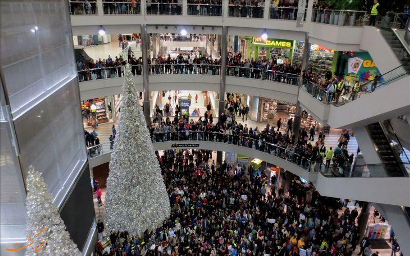 شلوغ ترین مرکز خرید دنیا