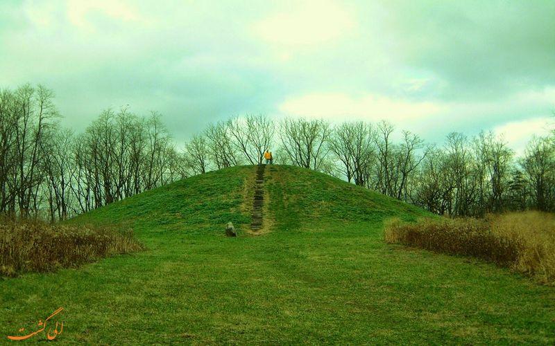 عکسی از تپه های لوا