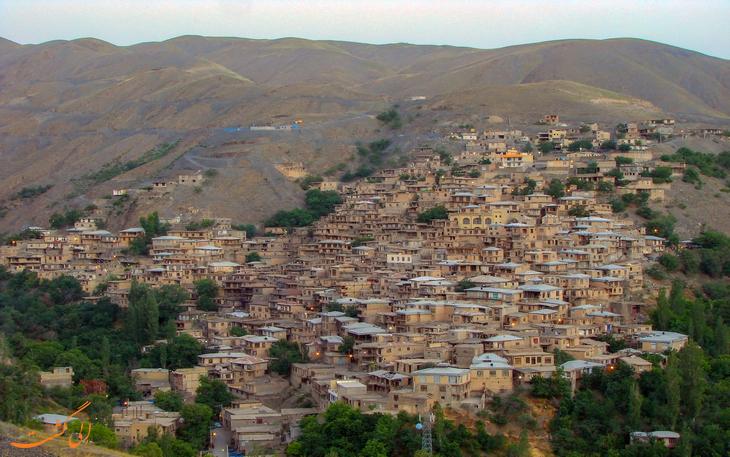 روستای پلکانی کنگ