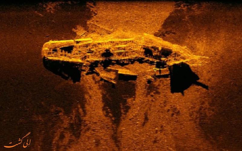 کشف دو کشتی صد و چهل ساله