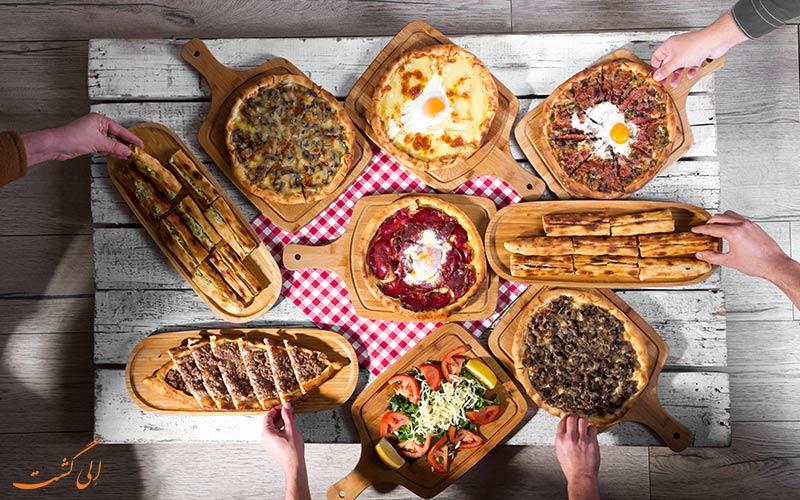 پیتزای رستوران های ازمیر