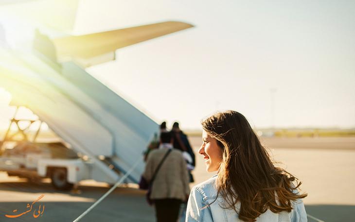 مسافر هواپیما
