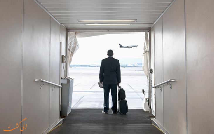 قوانین ایرلاین در مورد دیر رسیدن به پرواز