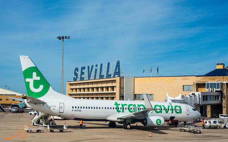 حمل و نقل فرودگاه سویل