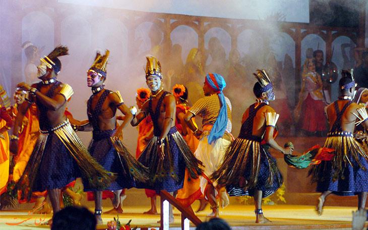 رقص قبیله سیدی