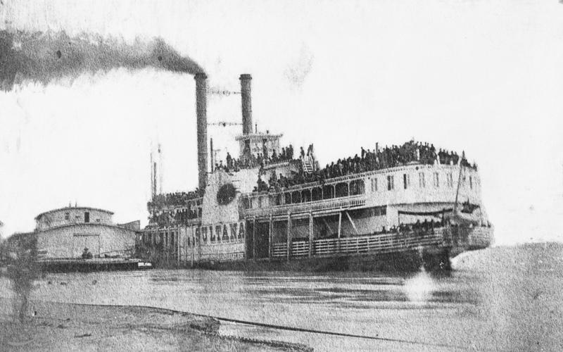 تصویری از کشتی SS Sultana