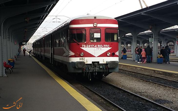 قطار بخارست