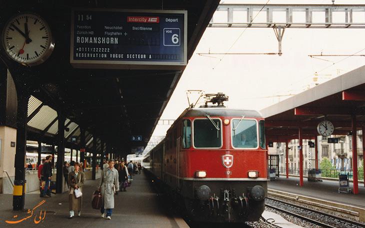 قطار فرودگاه ژنو