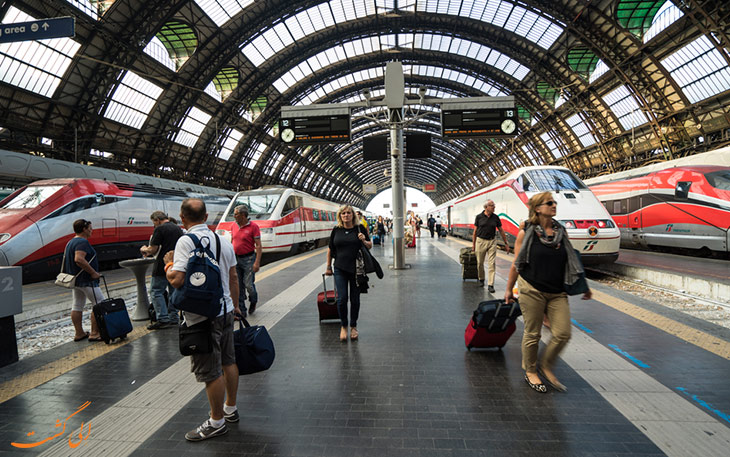 قطار فرودگاه میلان