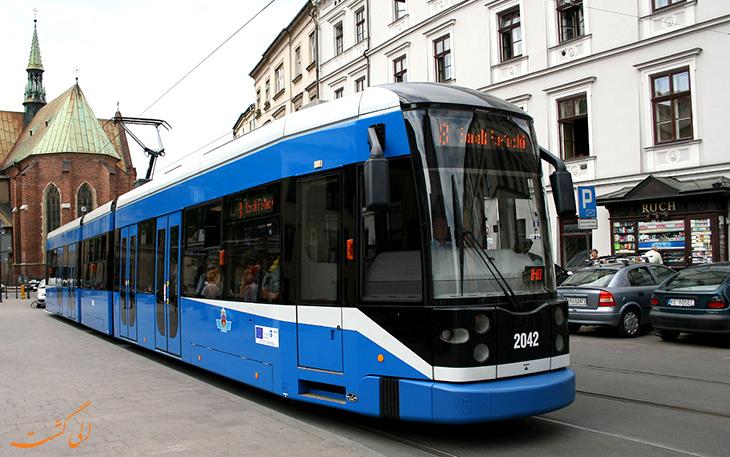 هزینه حمل و نقل در کراکوف