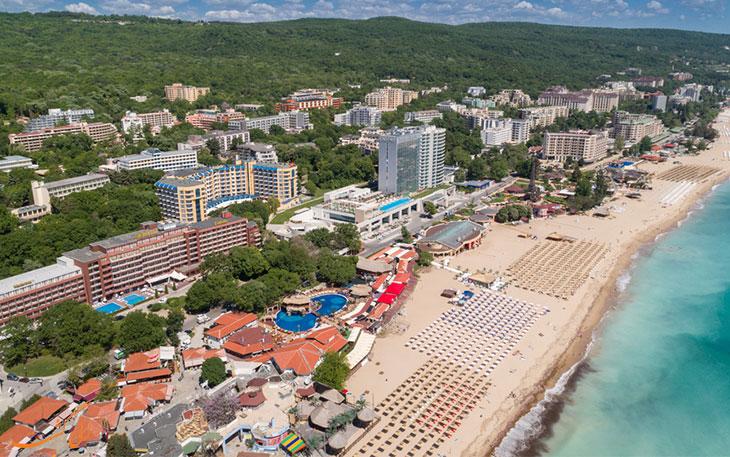 سواحل شهر وارنا در بلغارستان