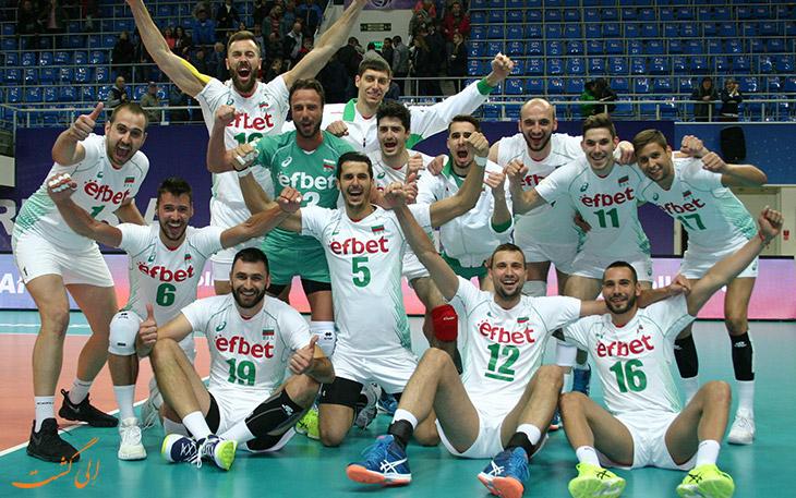 تیم ملی والیبال بلغارستان