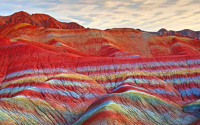 کوه های رنگی