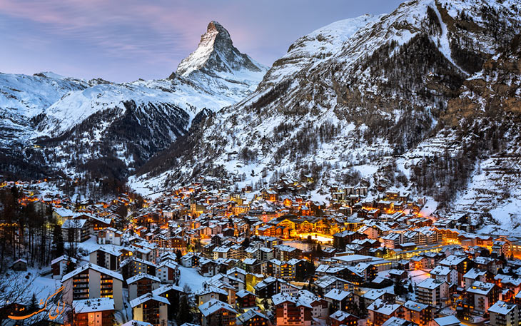 شهر زرمات سوئیس