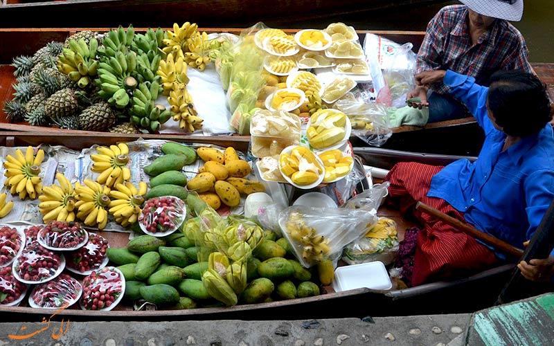 آشپزی در سفر - خرید مواد غذایی محلی