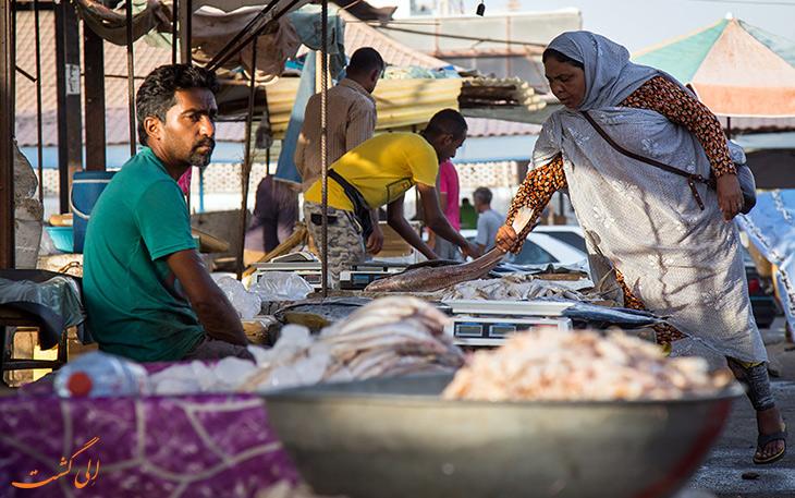 بازار ماهی بندرعباس