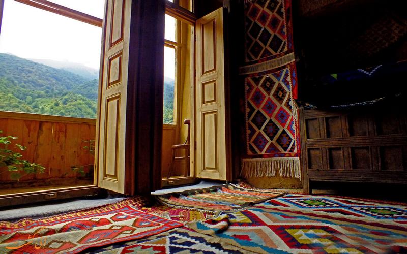 خانه های محلی در ماسوله