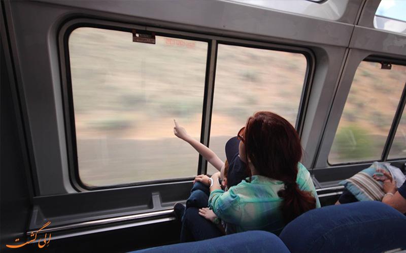 سفر با قطار - احترام به دیگر مسافران