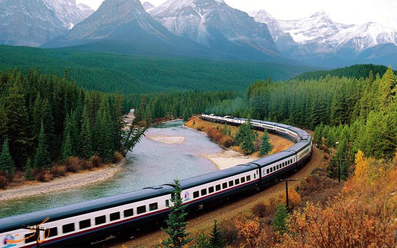 سفر با قطار - لذت از مناظر سفر