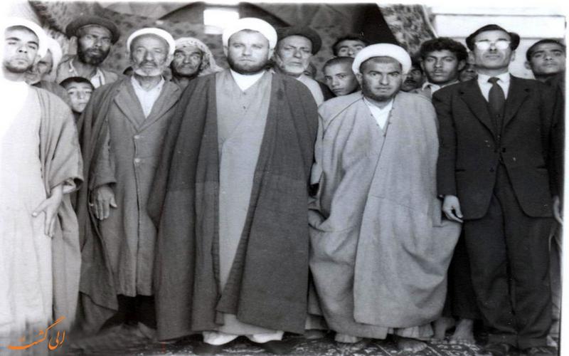 مردم و روحانیون بهبهانی در گذشته