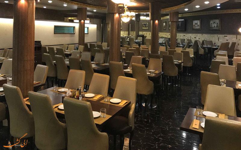 رستوران نمونه قزوین