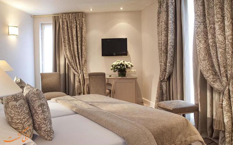 انواع اتاق های هتل شانزه لیزه فرایدلند پاریس