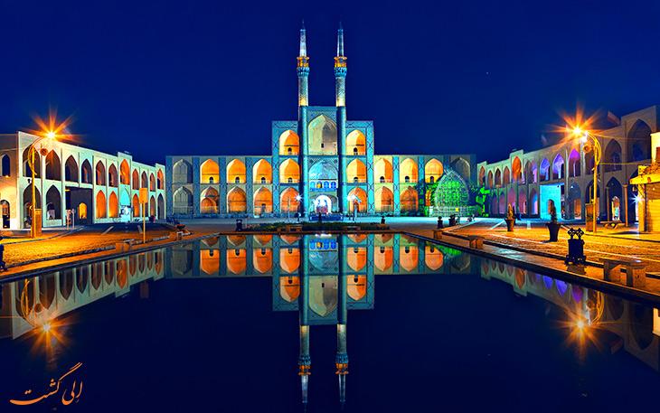 جاذبه های شهر یزد